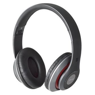 Defender FreeMotion B570, sluchátka s mikrofonem, ovládání hlasitosti, šedá, uzavřená, slot pro MicroSD kartu typ bluetooth