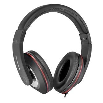 Defender Accord 171, sluchátka s mikrofonem, bez ovládání hlasitosti, černá, uzavřená, 2x 3.5 mm jack