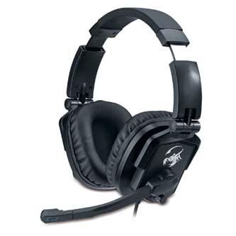 Genius, HS-G550, herní sluchátka s mikrofonem, černá, 3.5 mm jack