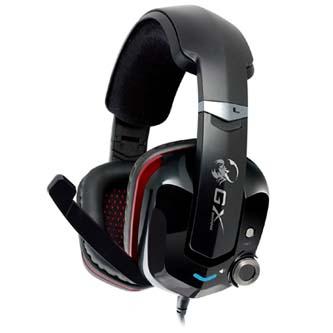 Genius, HS-G700V, herní sluchátka s mikrofonem, černá, USB