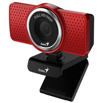 Genius Web kamera ECam 8000, 2,1 Mpix, USB 2.0, červená