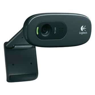 Logitech Web kamera C270, HD, USB 2.0, černá