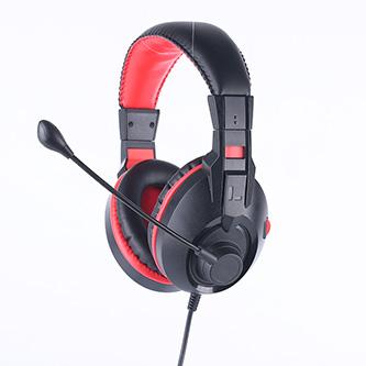 Marvo H8321, sluchátka s mikrofonem, ovládání hlasitosti, černá, 2 x 3.5 mm Jack