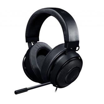 Razer, Kraken Pro V2 Black - Oval, sluchátka s mikrofonem, ovládání hlasitosti, černá, 3.5 mm jack