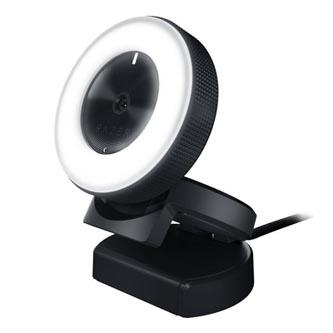 Razer Web kamera Kiyo, 2,1 Mpix, USB 2.0, černá, Windows 7/8/8.1/10, 60FPS při 720p / 30FPS při 1080p
