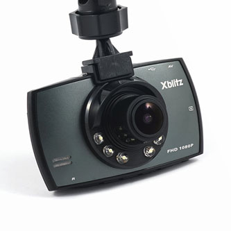 Xblitz Digitální kamera do auta BLACK BIRD, Full HD, mini USB, AV OUT, mini HDMI, černá