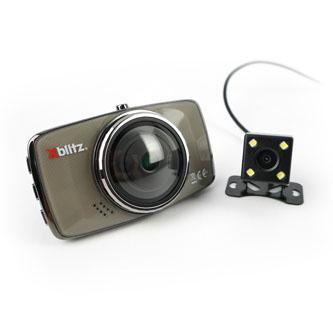Xblitz Digitální kamera do auta DUAL CORE, Full HD, USB port, HDMI, hnědá
