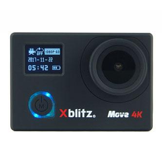 Sportovní kamera, Xblitz, MOVE, černá, 4K