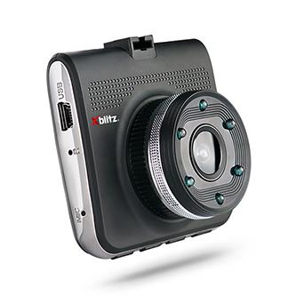 Xblitz Digitální kamera do auta Z4, Full HD, mini USB, černá, G-senzor, 6 infračervených diod, 110° zorný úhel