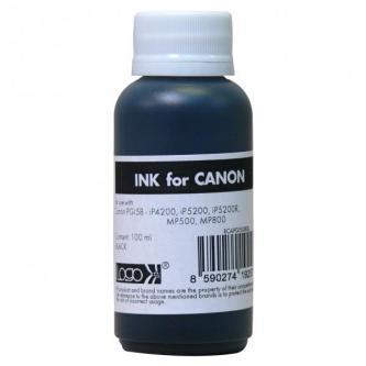 Logo samostatný inkoust pro PGI5B, black, 100 ml, pro Canon iP4200, iP5200, iP5200R, MP500, MP800