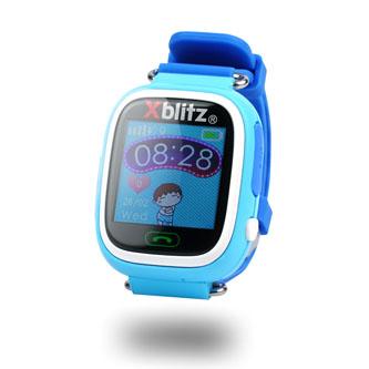 Chytré hodinky, Xblitz Love me, SIM, Sportovní, dětské, modré
