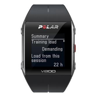 Chytré hodinky, Polar V800, Windows / Mac OS, USB kabel, Sportovní, černé