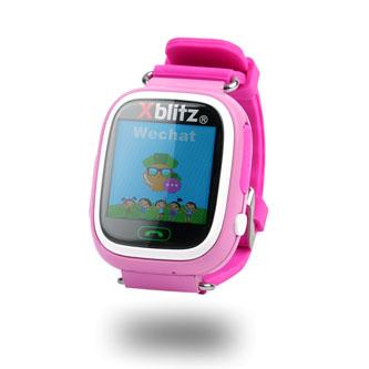 Chytré hodinky, Xblitz Love me, SIM, Sportovní, růžové