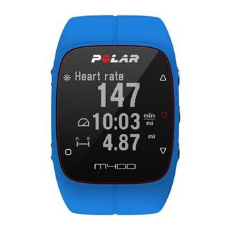Chytré hodinky, Polar M400, Windows / Mac OS, Bluetooth, Sportovní, modrá