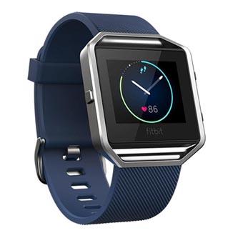 Chytré hodinky, Fitbit Blaze - S, Android / iOS / WindowsPhone, Bluetooth, Každodenní použití, modrá