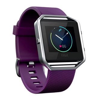Chytré hodinky, Fitbit Blaze - L, Android / iOS / WindowsPhone, Bluetooth, Každodenní použití, fialová