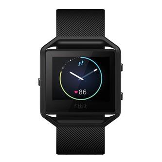 Chytré hodinky, Fitbit Gunmetal - S, Android / iOS / WindowsPhone, Bluetooth, Každodenní použití, černá