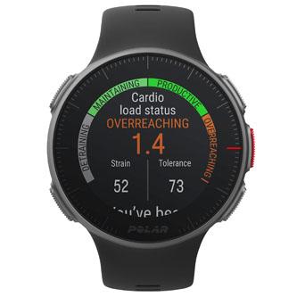 Chytré hodinky, Polar Vantage V, Android / iOS, USB kabel, Sportovní, černé