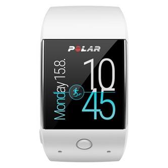 Chytré hodinky, Polar M600, Android / iOS, Bluetooth, Každodenní použití, bílé