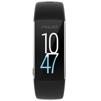 Chytrý náramek, Polar A360 - M, Android / iOS, Bluetooth, černá