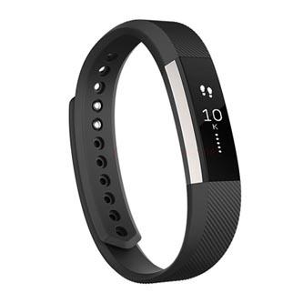 Chytrý náramek, Fitbit Alta, Android / iOS / WindowsPhone, Bluetooth, guma, černá