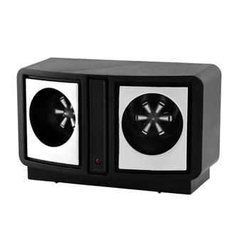 Elektronický odpuzovač hlodavců MR19 Napájení 230V/50Hz, spotřeba 2W, kmitočet 24-45kHz, až 230m2, černý