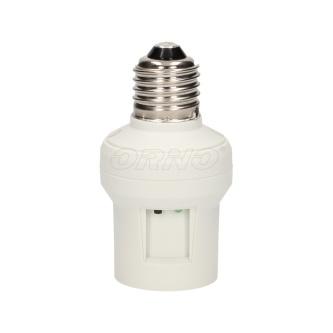 Objímka na žárovku 230V 50/60Hz, do 30m, MAX.100W, 20, bílá, ORNO, MAX. 100W, IP20