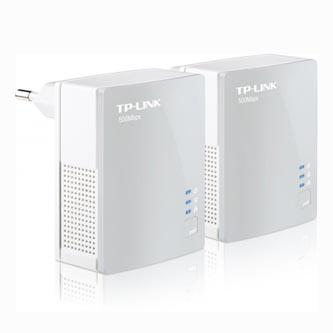 TP-Link Powerline ethernet TP-Link TL-PA4010 Starter Kit (2ks) nano adaptér (500 Mbps), 300m, bílá, TP-LINK