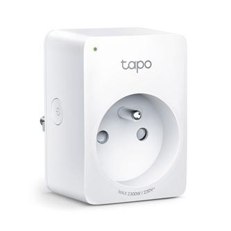 Chytrá zásuvka Tapo P100 220-240 V 50/60 Hz, dle dosahu WiFi, MAX.2990W, bílá, TP-LINK, dálkové ovládání, časovač, ovládání hlasem