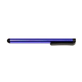 Dotykové pero, kapacitní, kov, tmavě modré, pro iPad a tablet
