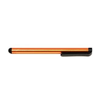 Dotykové pero, kapacitní, kov, oranžové, pro iPad a tablet