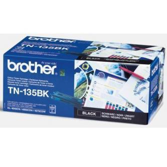 Brother originální toner TN135BK, black, 5000str., Brother HL-4040CN, 4050CDN, DCP-9040CN, 9045CDN, MFC-9840