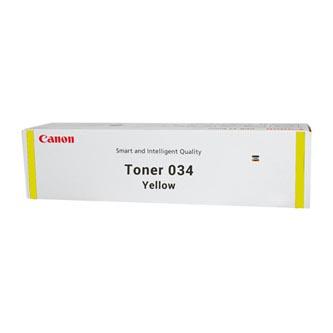 Canon originální toner 034, yellow