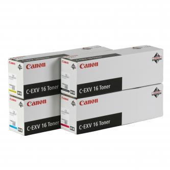 Canon originální toner CEXV16, black, 27000str., 1069B002, Canon CLC-5151, 4040, 4141, 550g