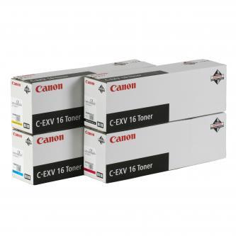 Canon originální toner CEXV16, cyan, 36000str., 1068B002, Canon CLC-5151, 4040, 4141, 550g