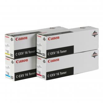 Canon originální toner CEXV16, magenta, 36000str., 1067B002, Canon CLC-5151, 4040, 4141, 550g