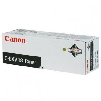 Canon originální toner CEXV18, black, 0386B002, Canon iR-1018, 1022