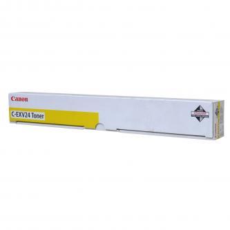 Canon originální toner CEXV24, yellow, 9500str., 2450B002, Canon iR-5800, 5870, 5880, 6800, 6870, 6880, C, CN, Ci, náhrada za CEXV