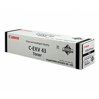 Canon originální toner CEXV43, black