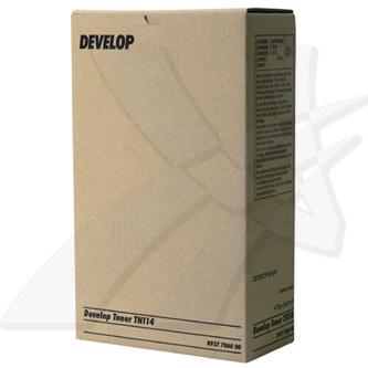 Develop originální toner 8937 7860 00, black, 22000str., TN-114, Develop D1531ID,1536ID,16