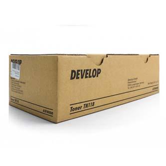 Develop originální toner A3VW0D0, black, 2x12000str., TN-118, Develop Ineo 215