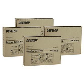 Develop originální toner 8938517, black, 20000str., TN-210K, Develop Ineo +250