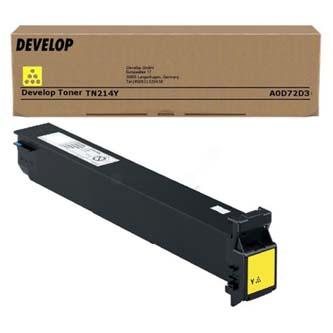 Develop originální toner A0D72D3, yellow, 18500str., TN-214Y, Develop Ineo +200