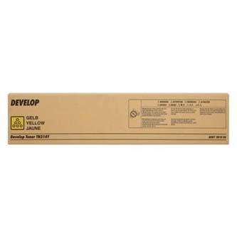 Develop originální toner A0D72D1, yellow, 20000str., TN-314Y, Develop Ineo +353, +353P