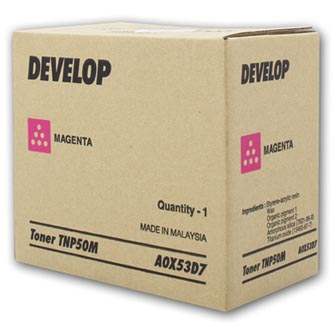 Develop originální toner A0X53D7, magenta, 5000str., TNP-50M, Develop Ineo +3100P, O