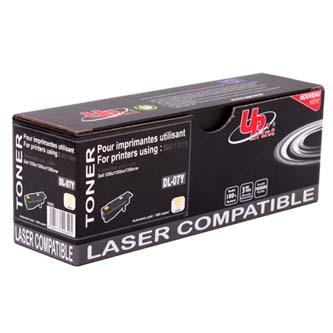 UPrint kompatibilní toner s 593-11019, yellow, 1400str., DL-07Y, high capacity, pro Dell 1250, 1350, UPrint