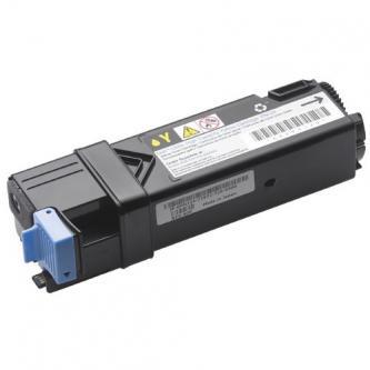 Dell originální toner 593-10264, 593-10318, 593-10326, 593-10351, yellow, 1000str., OP239/RY856, low capacity, Dell 1320, 2130, 21