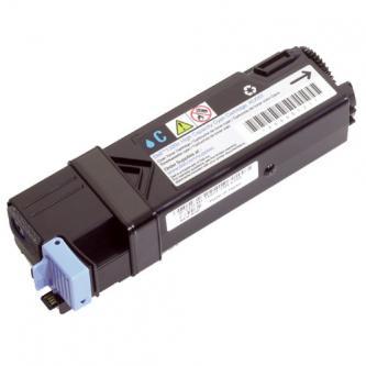 Dell originální toner 593-10321, 593-10313, cyan, 2500str., FM065, high capacity, Dell 2130CN