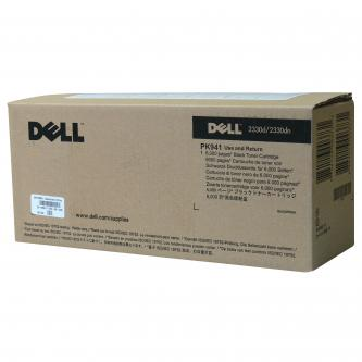 Dell originální toner 593-10335, black, 6000str., PK941, return, Dell 2330d, 233