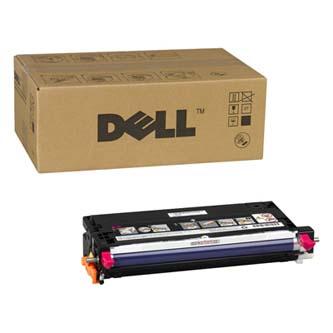 Dell originální toner 593-10296, magenta, 3000str., G908C, Dell 3130CN